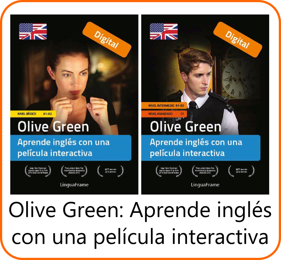 Olive Green: aprende inglés con una película