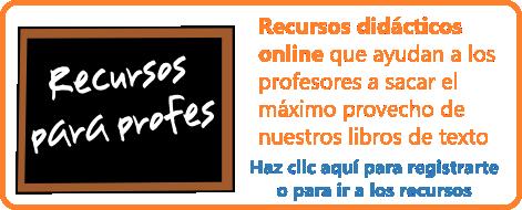 recursos didácticos para ayudar a los profesores a sacar el máximo provecho de nuestros libros